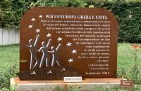 Anniversario Inaugurazione Monumento all'Europa Unita.